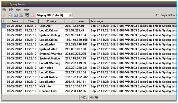Syslog Server and CatTools Network Configuration Manager | Kiwi